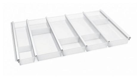 Лоток для столовых приборов Ninka Cuisio Aqua 80 BL белый — купить по выгодной цене на Яндекс.Маркете