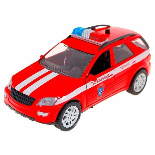 Купить Легковой автомобиль Autogrand Germany Allroad пожарная охрана (49548) 1:36 красный, Машинки и техника