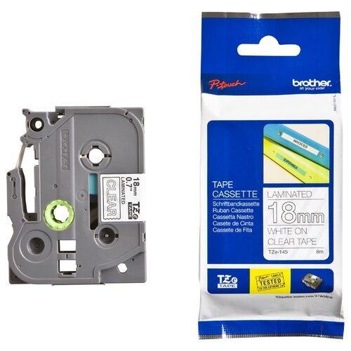 Фото - Картридж для принтера этикеток Brother, арт. TZe-145 (18 мм) картридж для принтера этикеток brother арт tze 253 24 мм