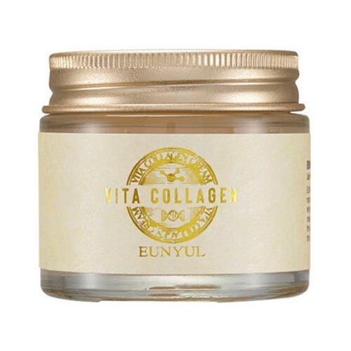 Eunyul Vita Collagen Cream Крем для лица с коллагеном и пептидами, 70 г крем для лица с коллагеном и растительными экстрактами collagen herb complex cream 180мл