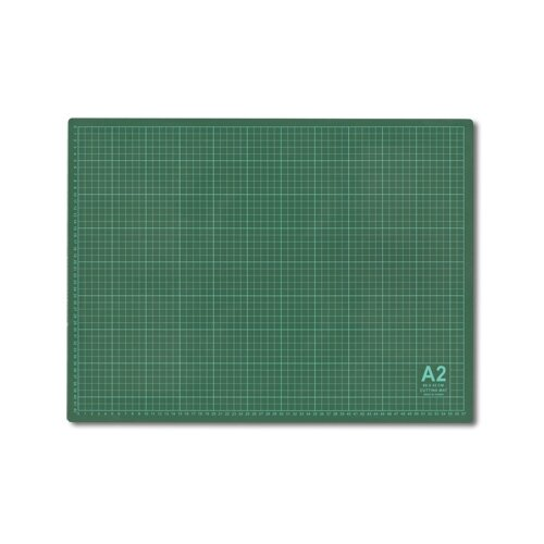 Купить Gamma Мат для резки DK-002 60 x 45 см формат А2 серо-зеленый, Инструменты и аксессуары