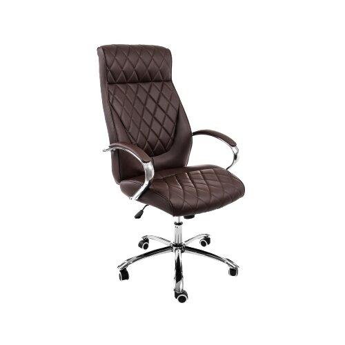 Фото - Компьютерное кресло Woodville Monte офисное, обивка: искусственная кожа, цвет: темно-коричневый компьютерное кресло woodville rich офисное обивка искусственная кожа цвет коричневый