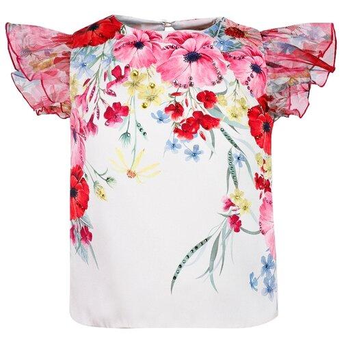 Блуза EIRENE размер 92-98, красный/кремовый цена 2017