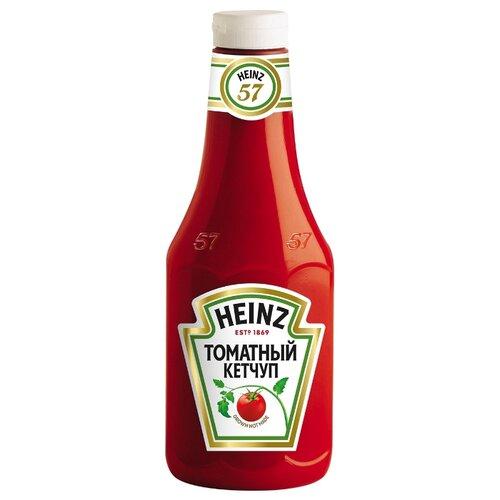 Фото - Кетчуп Heinz Томатный, пластиковая бутылка 1000 г кетчуп кухмастер томатный 260 г