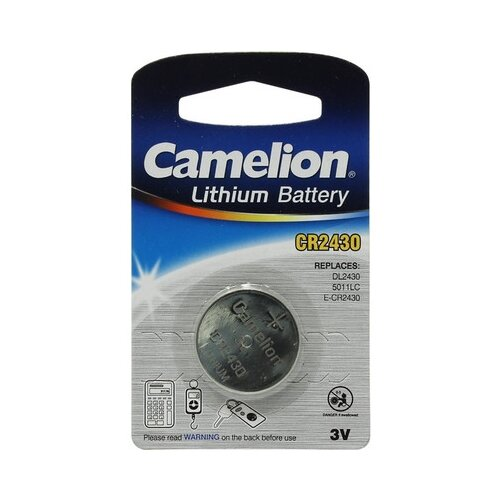 Батарейка Camelion CR2430 1 шт блистер батарейка camelion green series aaa 4 шт блистер