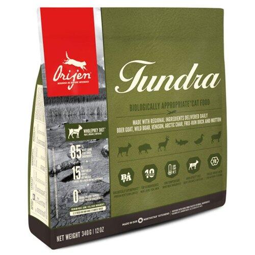 Сухой корм для кошек Orijen Tundra беззерновой 340 г.