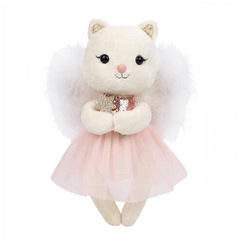 Мягкая игрушка Angel Collection Киска Жизель с крыльями 28 см