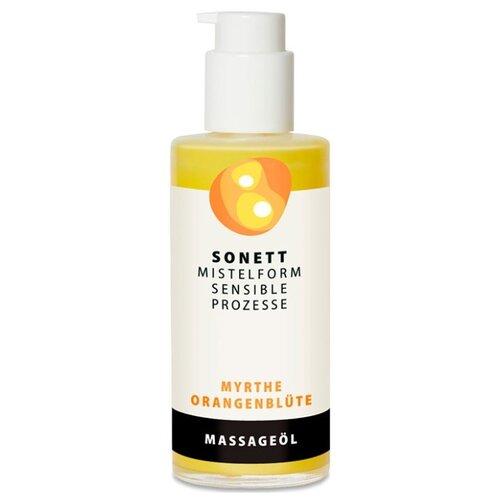 Масло для тела Sonett питательное для массажа мирт-цветок апельсинового дерева, 145 мл какое масло используют для массажа тела