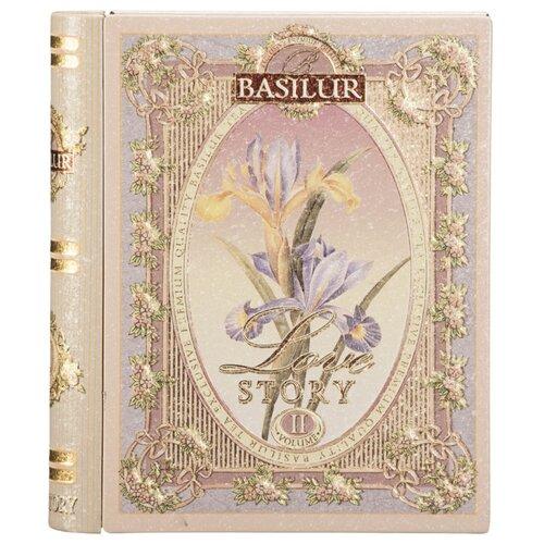Чай Basilur Tea book Love story Volume II подарочный набор , 100 г