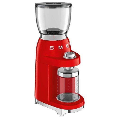Кофемолка smeg CGF01 красный