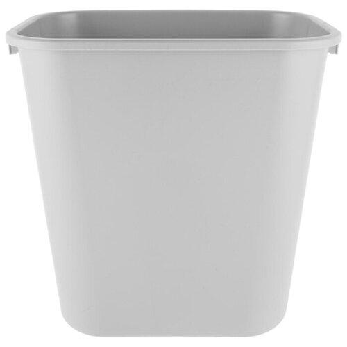 Корзина для мусора прямоугольная офисная Soft Wastebaskets 26,6 л., Серый, Rubbermaid