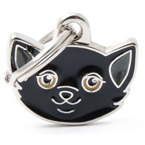 Адресник my family Европейская короткошерстная кошка (MF36) черный