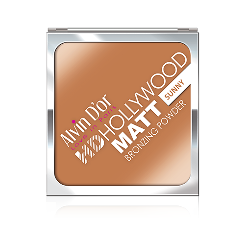 Alvin Dor Бронзирующая пудра HD Hollywood Matt Bronzing Powder 02 sunny