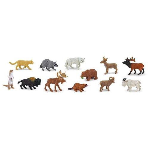 Купить Фигурки Safari Ltd Животные Северной Америки 697004, Игровые наборы и фигурки