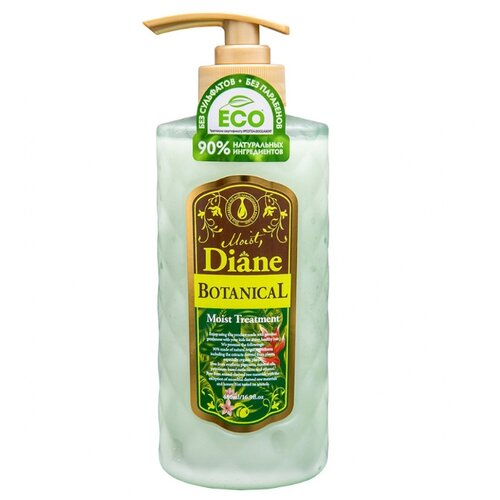 Moist Diane бальзам-кондиционер Botanical Moist Treatment, 480 мл бальзам moist diane diane volume