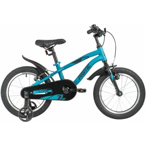 Фото - Детский велосипед Novatrack Prime 16 Al V (2020) синий (требует финальной сборки) детский велосипед novatrack urban 16 2019 синий требует финальной сборки