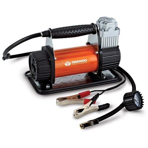 Фото - Автомобильный компрессор Daewoo Power Products DW90 черный/оранжевый пылесос автомобильный daewoo power products davc100 черный оранжевый