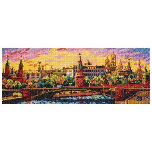 Набор для вышивания крестиком PANNA Вечерняя Москва (G-7139)