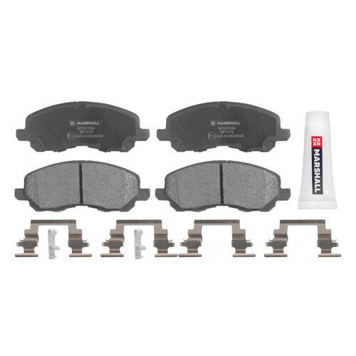 Дисковые тормозные колодки передние Marshall M2623584 для Mitsubishi, Chrysler, Jeep, Dodge (4 шт.)