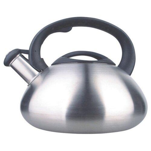 KC Чайник 333-RY-6 3 л серебристый/черный чайник maestro rainbow mr 1301 серебристый черный 3 5 л