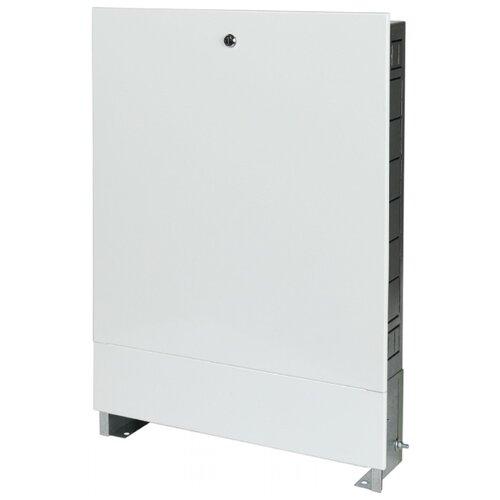 Коллекторный шкаф встраиваемый STOUT ШРВ-1 SCC-0002-000045 белый шкаф распределительный stout встроенный 1 3 выхода шрв 0 670х125х404 мм scc 0002 000013