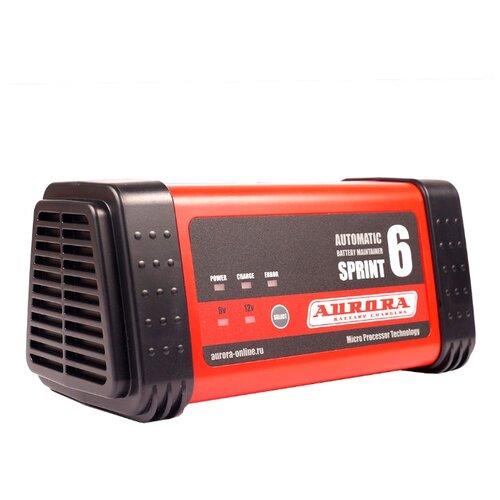 Фото - Зарядное устройство Aurora Sprint-6 черный/красный aurora sprint 20d automatic