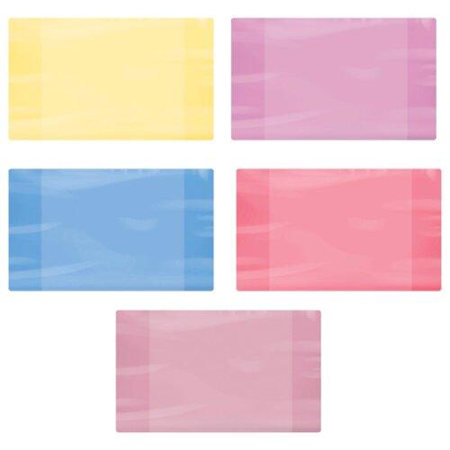 Пифагор Обложка для дневников и тетрадей 210х350 мм, 60 мкм, цветная ассорти обложка пвх для тетради и дневника пифагор цветная плотная 100 мкм 210х350 мм 227480