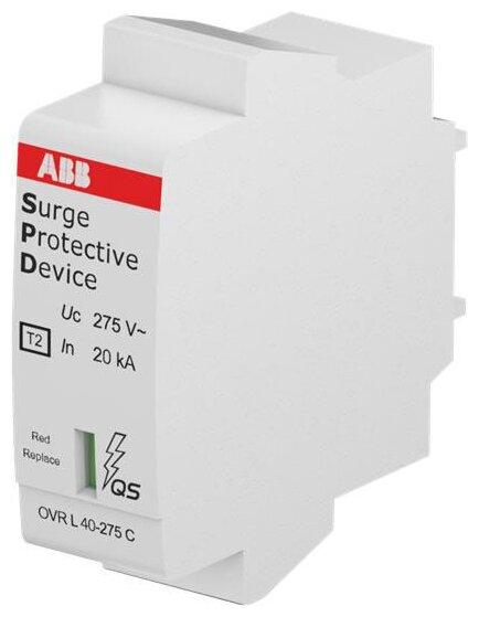 Устройство защиты от перенапряжения для систем энергоснабжения ABB 2CTB803854R1200