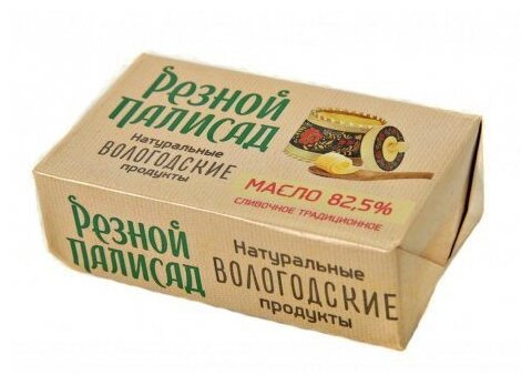 Резной Палисад масло сливочное Традиционное 82.5%, 160 г