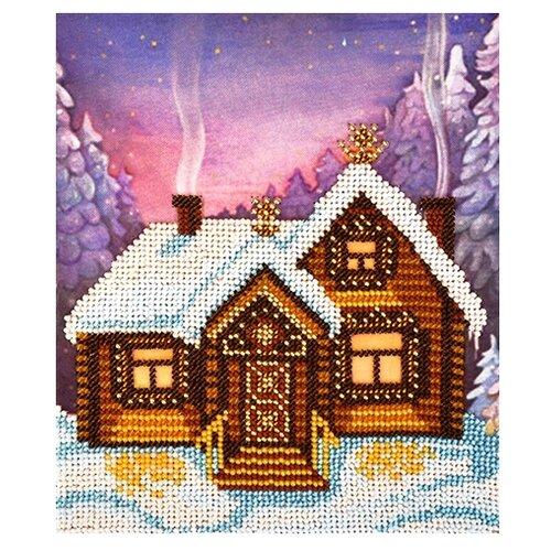 Купить Бисеринка Набор для вышивания бисером Терем-теремок 17 х 19, 5 см (Б-01115), Наборы для вышивания