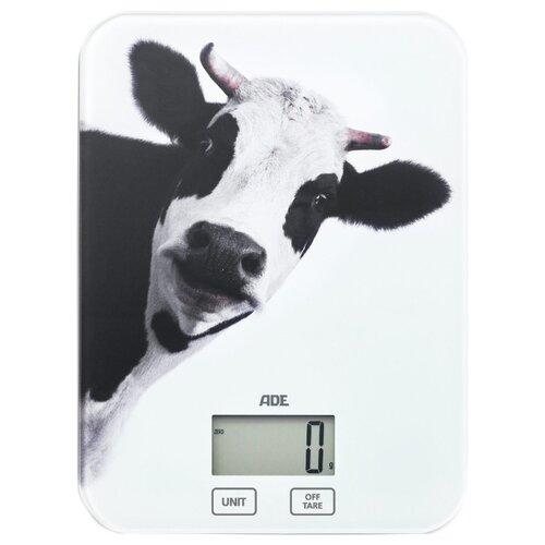 Кухонные весы ADE Inka KE 1603 белый/черный