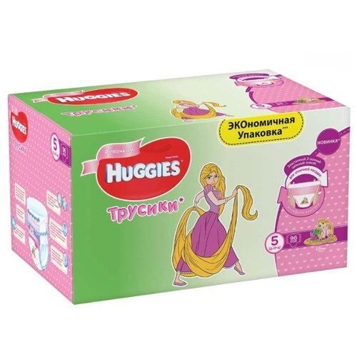 Huggies трусики для девочек 5 (13-17 кг) 96 шт.Подгузники<br>