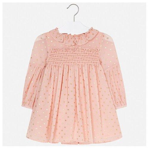 Платье Mayoral размер 104, розовый