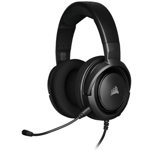 Фото - Компьютерная гарнитура Corsair HS35 Stereo Gaming Headset carbon компьютерная гарнитура corsair hs50 pro stereo gaming headset черный матовый