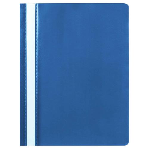 Купить STAFF Папка-скоросшиватель А4, полипропилен 100 и 120 мкм синий, Файлы и папки