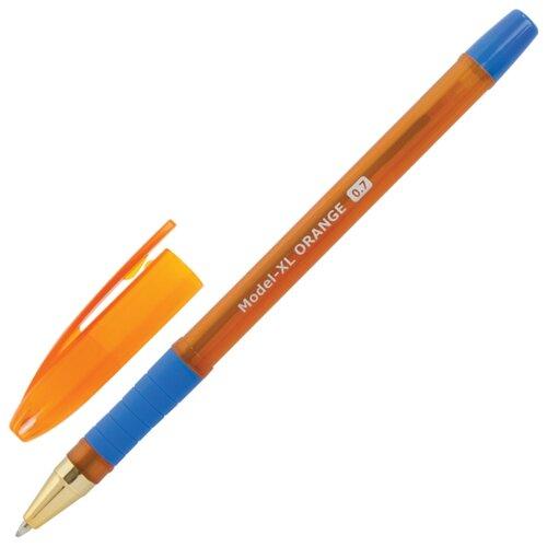 Купить BRAUBERG Ручка шариковая Model-XL Orange, 0, 7 мм (143246), синий цвет чернил, Ручки