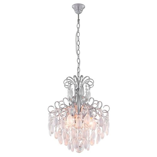 Фото - Люстра Crystal Lux Sevilia SP4 Silver, E14, 200 Вт подвесная люстра crystal lux sevilia sp9 silver