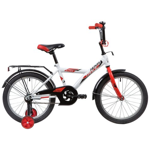 детский велосипед navigator bingo вн12158 белый с рисунком требует финальной сборки Детский велосипед Novatrack Astra 18 (2020) белый (требует финальной сборки)