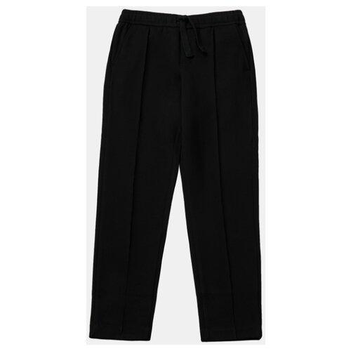 Брюки Gulliver размер 146, черный брюки gulliver 21908gjc6405 размер 146 леопардовый