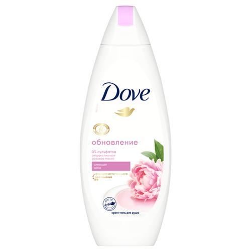 Фото - Крем-гель для душа Dove Сливочная ваниль и пион, 250 мл крем гель для душа dove изысканное преображение 250 мл