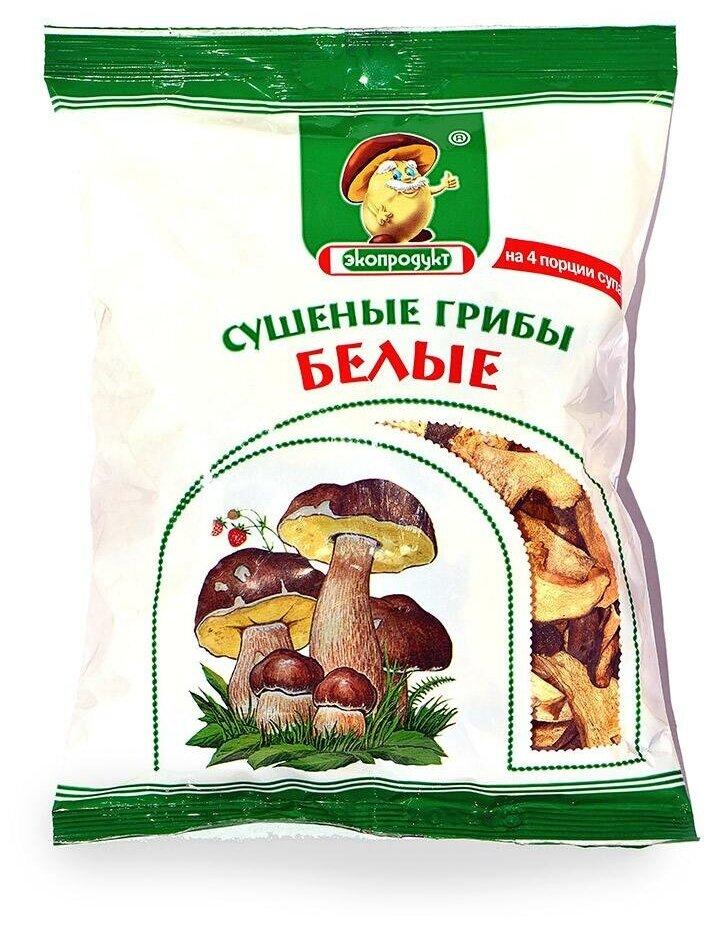 Стоит ли покупать Экопродукт Белые резаные сушеные (Россия) 50 г - 5 отзывов на Яндекс.Маркете