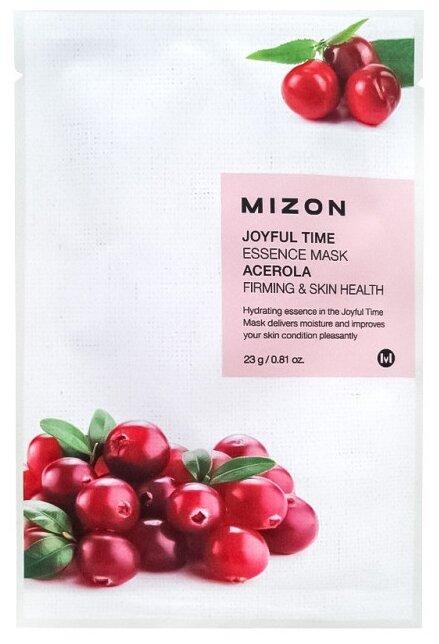 Mizon Joyful Time Essence Mask тканевая маска с экстрактом барбадосской вишни