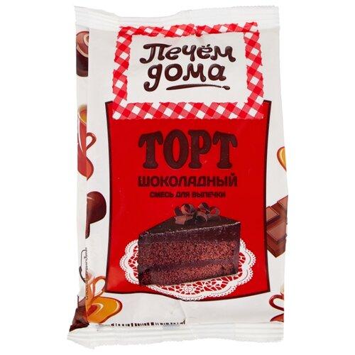 Печём Дома Смесь для выпечки Торт шоколадный, 0.4 кг