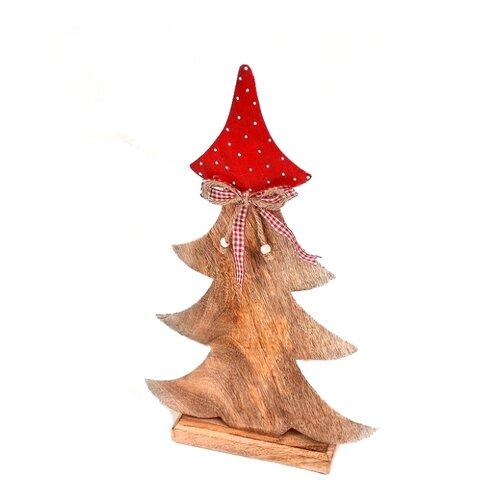 Фигурка EnjoyMe Love Tree 42 см коричневый/красный