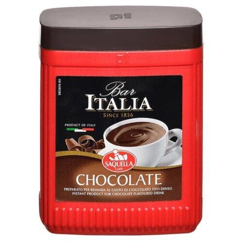 горячий шоколад caffe diemme classic chocolate 1 кг Saquella Bar Italia горячий шоколад Chocolate, пластиковая банка, 400 г