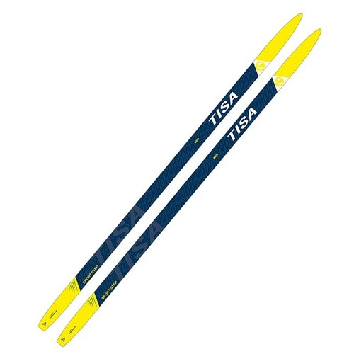 Фото - Беговые лыжи Tisa Sport Step Jr без креплений синий/желтый 170 см sport step jr