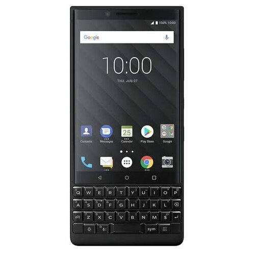 Смартфон BlackBerry KEY2 128GB Dual sim черный