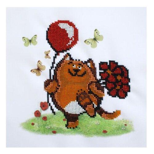 Купить Бисеринка Набор для вышивания бисером Праздничное настроение 20 х 20 см (Б-0087), Наборы для вышивания