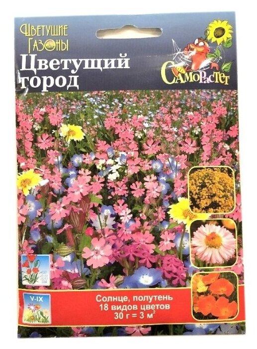 Смесь семян Русский Огород Цветущий город, 30г