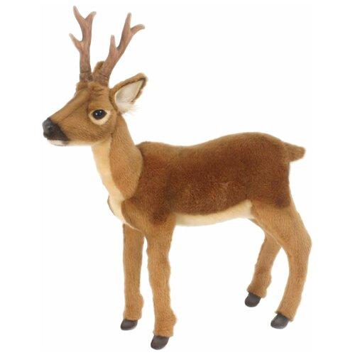 Мягкая игрушка Hansa Олень молодой 47 см hansa мягкая игрушка hansa экзотические животные коала с детенышем 28 см